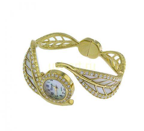 Другие фото Стильные позолоченные женские часы Xanadu со стразами Сваровски